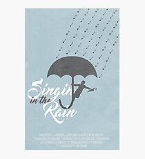 Singin' in the Rain Poster Photographic Print
