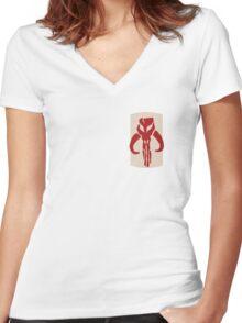 Bounty Hunter Women's Fitted V-Neck T-Shirt