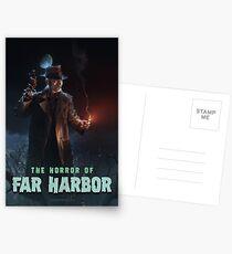 The Horror of Far Harbor Postcards