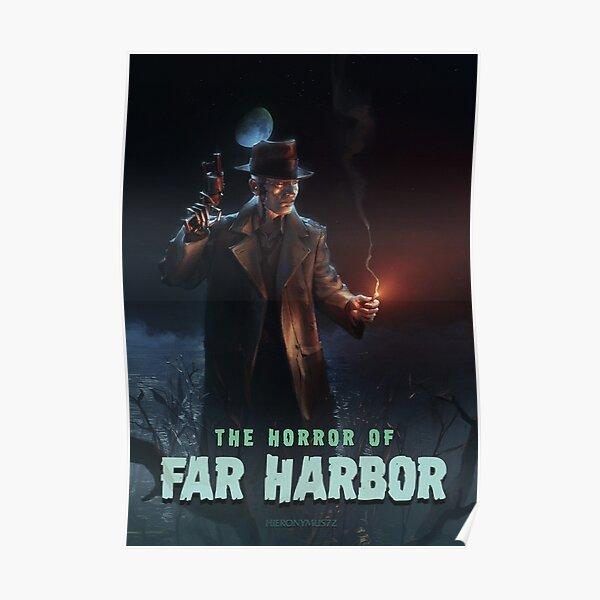 The Horror of Far Harbor Poster