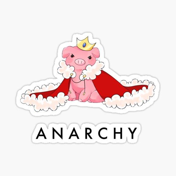 Techno The Pig Sticker