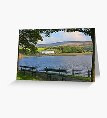 Hollingworth Lake Greeting Card