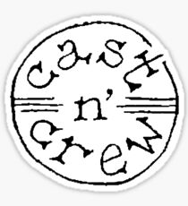 Cast n' Crew Logo Sticker Sticker