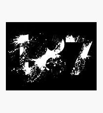187 (White) Photographic Print