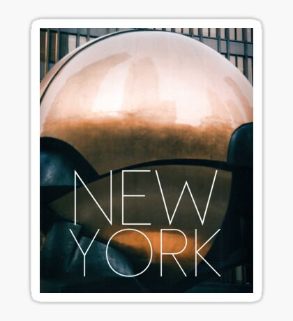 NEW YORK VIII Sticker