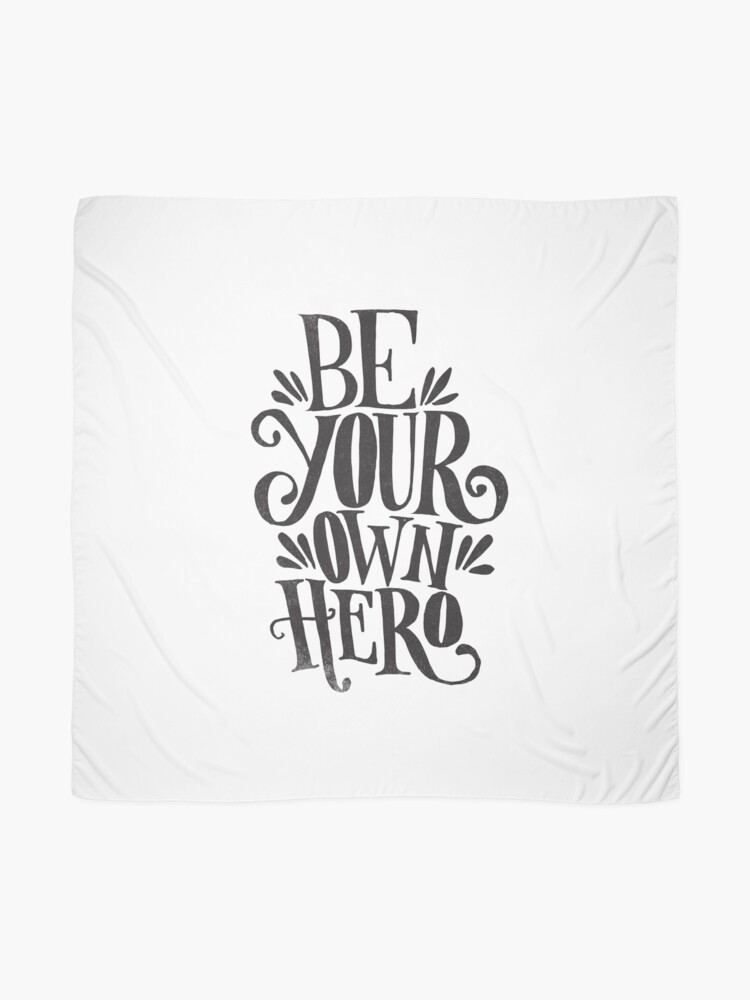 Alternate view of Be Your Own Hero Scarf