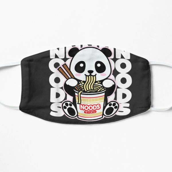 Kawaii Instant Noodles Cute Anime Panda Japanese Noods Gift Mask