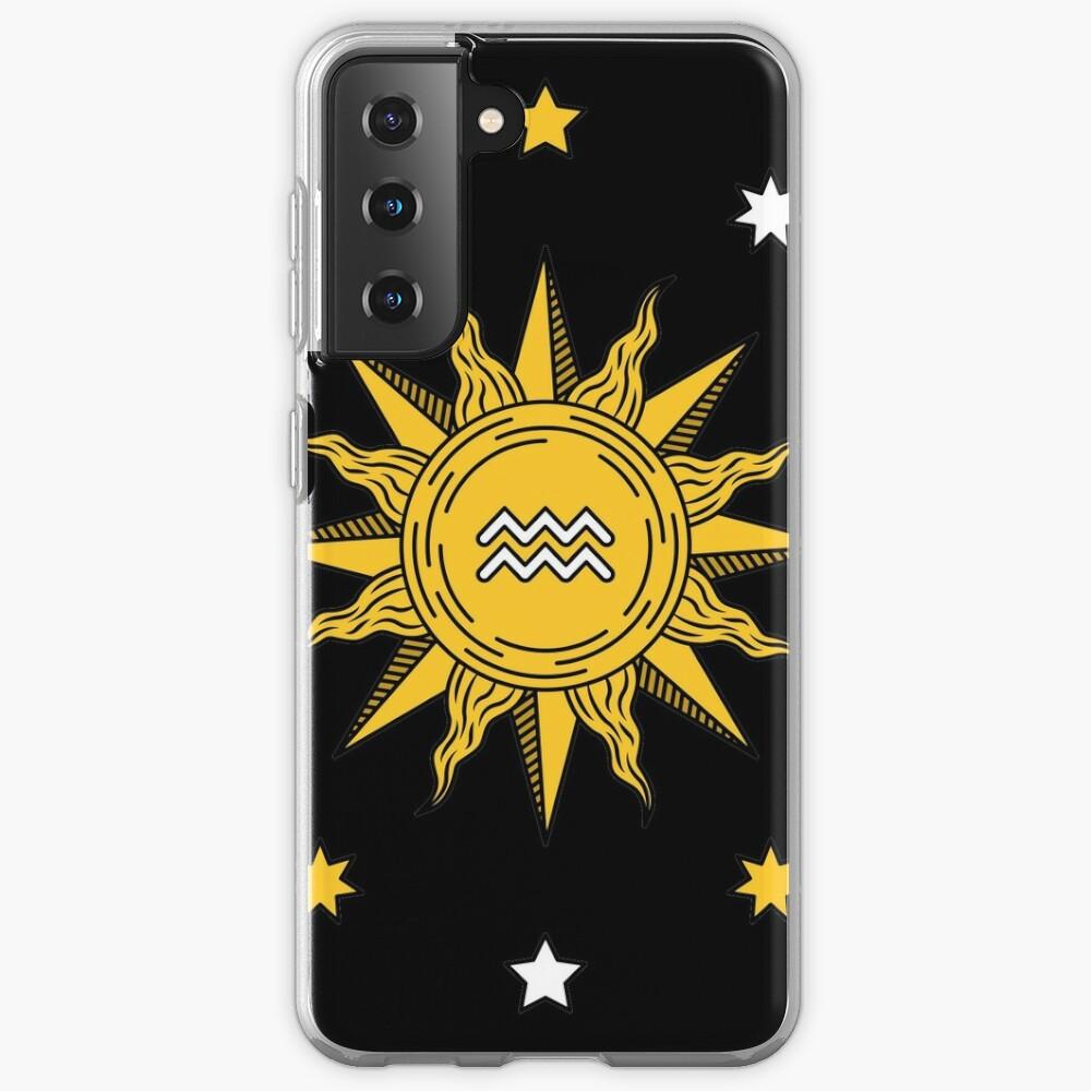 Aquarius Sun Case & Skin for Samsung Galaxy