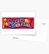The Mario All Stars Postcards