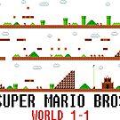 Super Mario Bros. Welt 1-1 von LagginPotato64