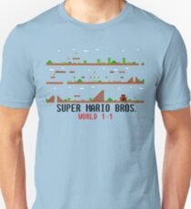 Super Mario Bros. World 1-1 T-Shirt