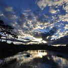 Binalong Bay Sunset, Tasmania by Kylie Reid