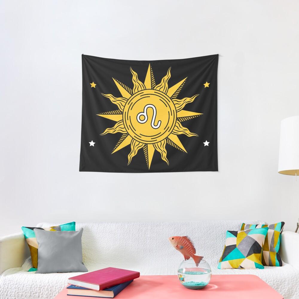 Leo Sun Tapestry