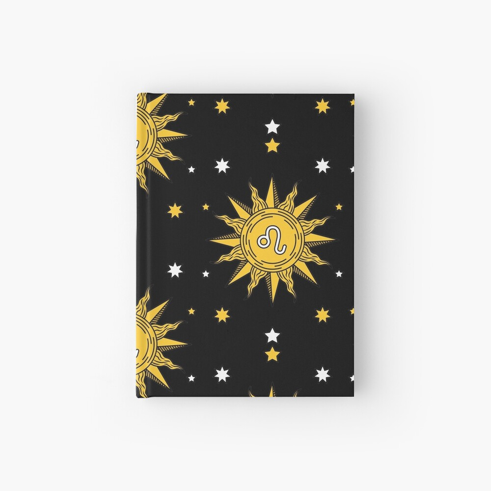 Leo Sun Hardcover Journal