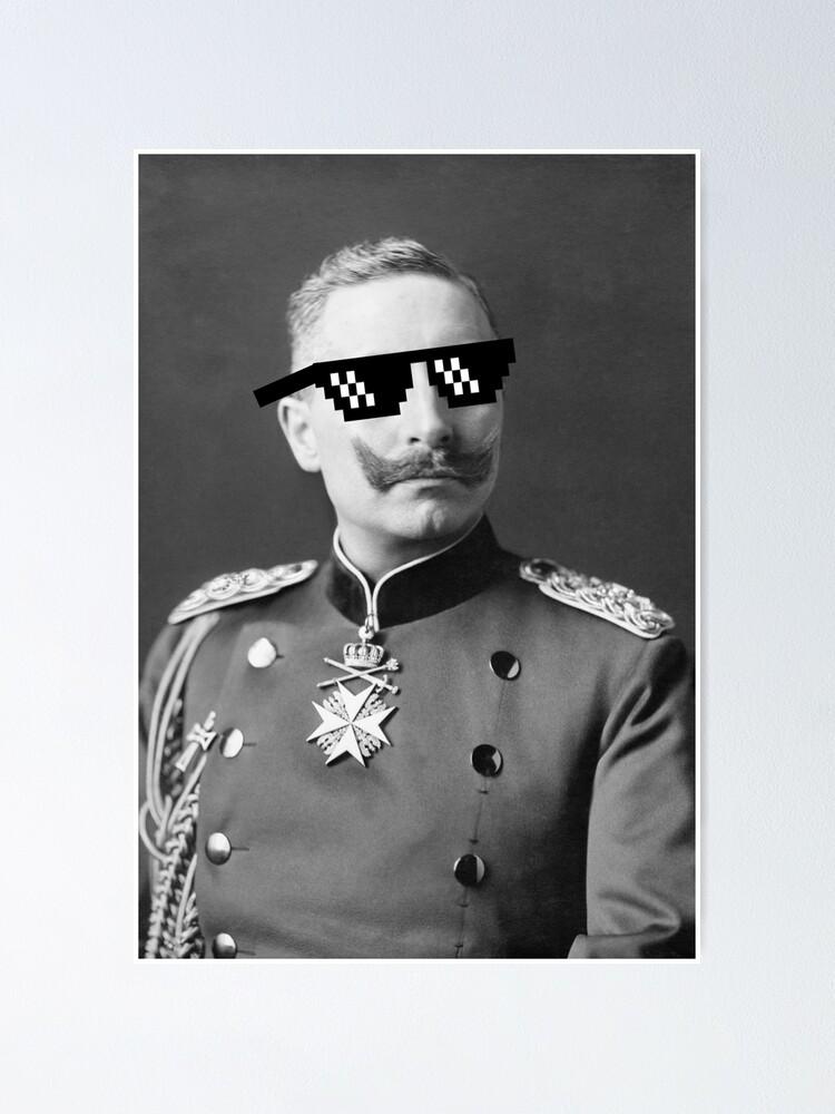 Kaiser Wilhelm II, ~1900, [644 x 1024] : HistoryPorn