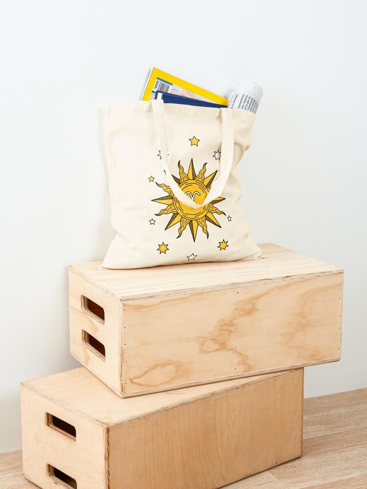 Alternate view of Aries Sun Tote Bag