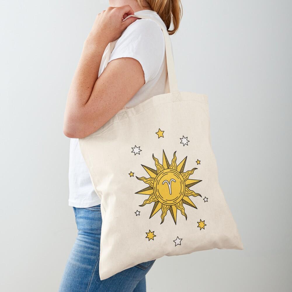 Aries Sun Tote Bag
