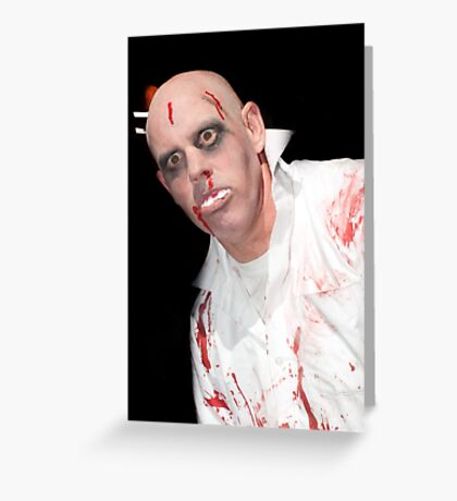 0715 Zombie 13 Greeting Card