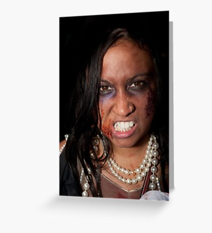 0760 Zombie 54 Greeting Card