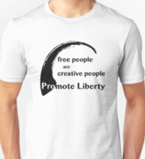 Free People are Creative People T-Shirt