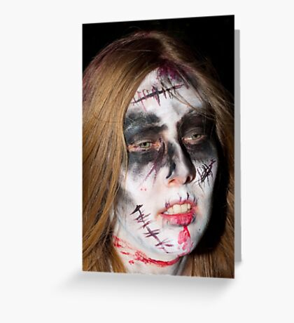 0749 Zombie 44 Greeting Card