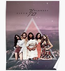 Fifth Harmony - 7/27 (Mountains) Poster