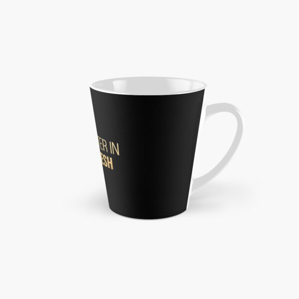 Life is better in Bangladesh in Gold Tall Mug