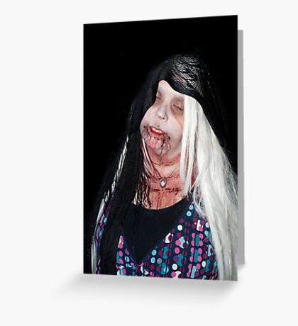 0741 Zombie 37 Greeting Card