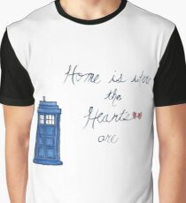 Home is Where the Hearts Are Graphic T-Shirt