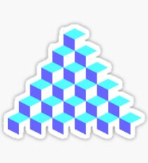 Q*Bert Pyramid Sticker