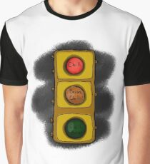 Chill Brian Stoplight Graphic T-Shirt