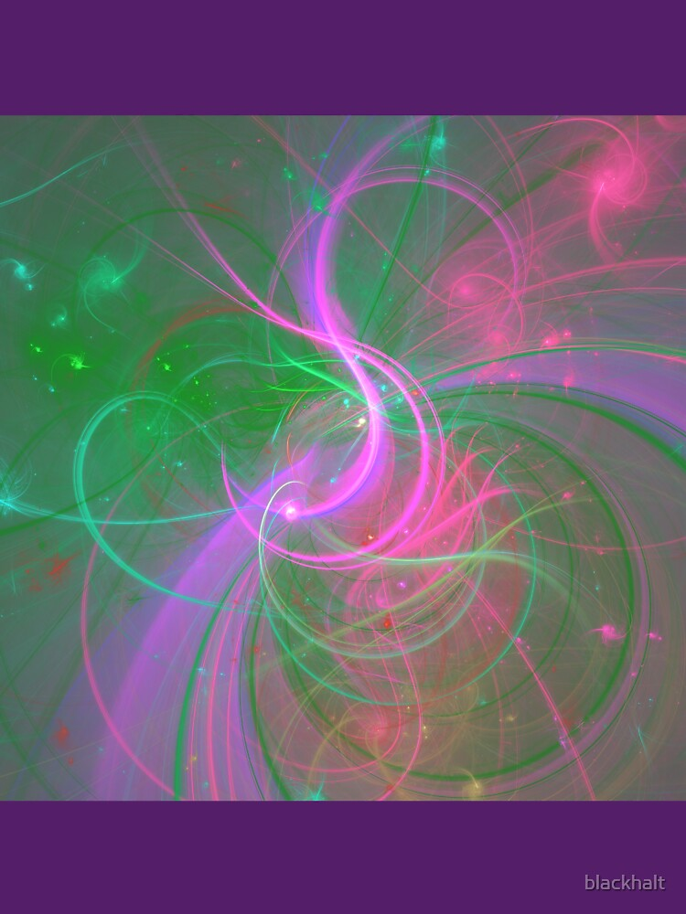 Chaotica fractalize space abstraction by blackhalt