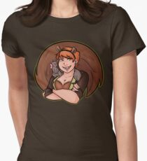Unbeatable Squirrel Girl!! Womens Fitted T-Shirt