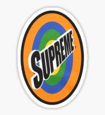 Supreme Spin Logo Sticker