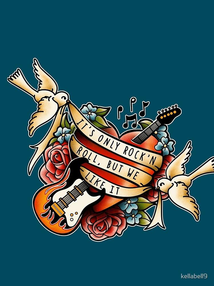 Rock Tattoo by kellabell9