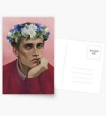 Flower crown Adam Postcards