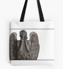 Weeping Angel Tote Bag