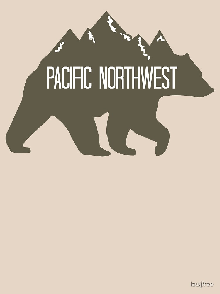 PNW Mountain Bear by lawjfree
