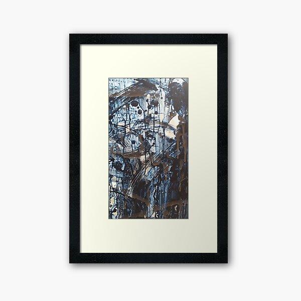 """detail: """"What the Rain Said"""" Framed Art Print"""