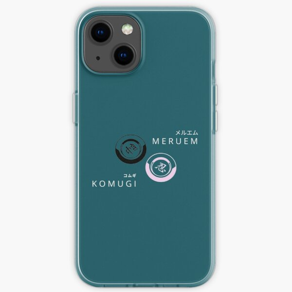 Komugi & meruem, the Queen & king, Hunter. valentine day iPhone Soft Case
