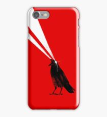 Laser crow iPhone Case/Skin