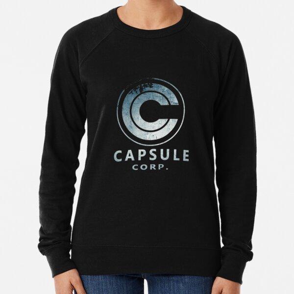 Capsule Corp. (oscuro) Sudadera ligera