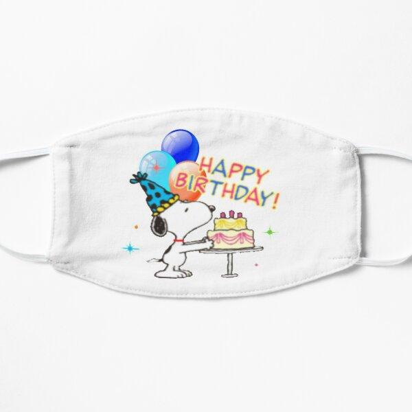 Dog birthday Flat Mask