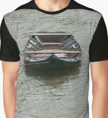 boat on the river Graphic T-Shirt