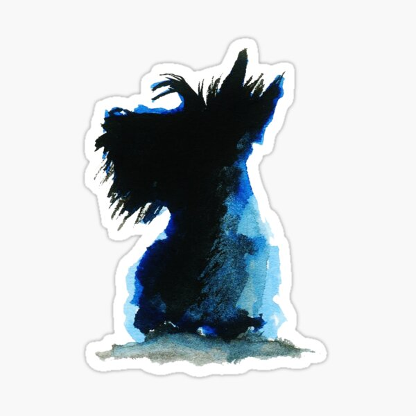 Scottie Dog Sticker