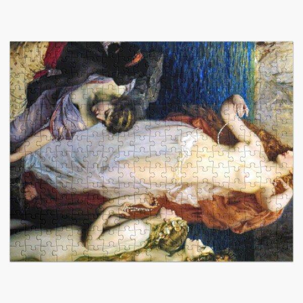 The Pearls Of Aphrodite – (Herbert James Draper)  Герберт Дрейпер - Жемчуг Афродиты Jigsaw Puzzle