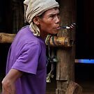 Pipe Smoker by David Kelly