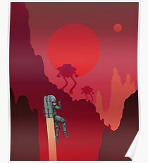 Blood Red Mars Poster