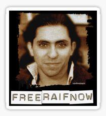 Free Raif Badawi (dark) Sticker