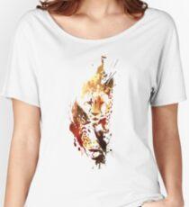 El guepardo Women's Relaxed Fit T-Shirt